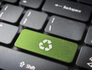 contenedor de reciclaje